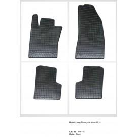 Гумени стелки за Джип Ренегейт/ Фиат 500X (2014+)