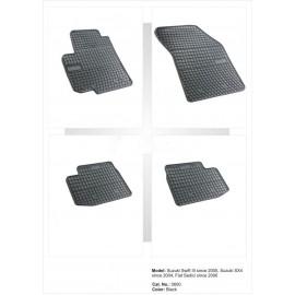 Гумени стелки за Сузуки Суифт / SX4 (2005-2013) / Фиат Седици
