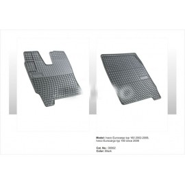 Гумени стелки за камион Iveco Stralis - тясна кабина
