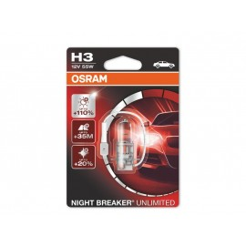 Osram H3 Night Breaker Unlimited 12V 55W